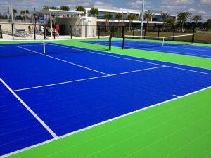 tennis court design